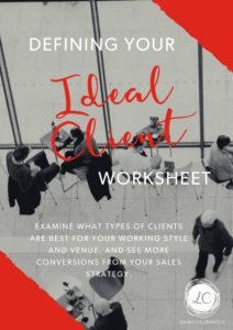 defining your ideal client profile