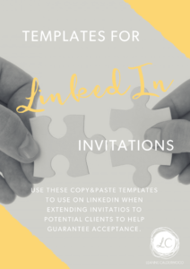 linkedin invitation templates