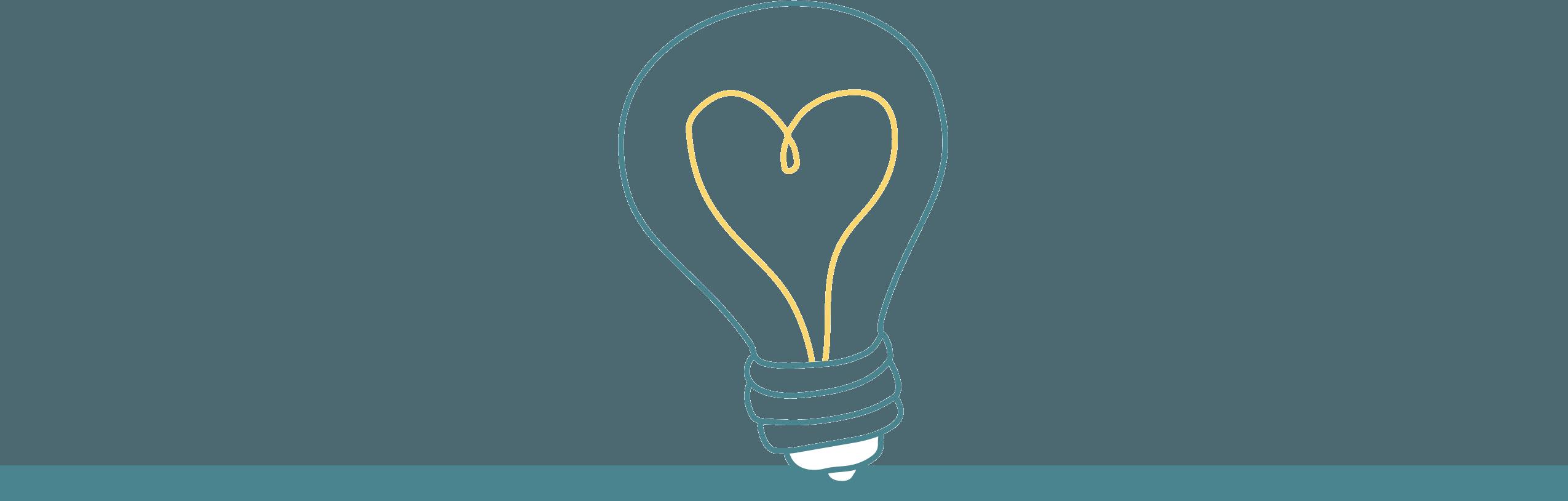 lightbulb icon header