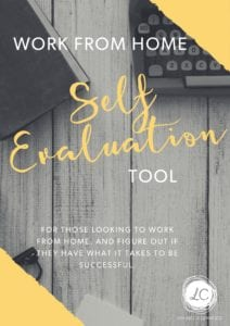 work from home self evaluation tool