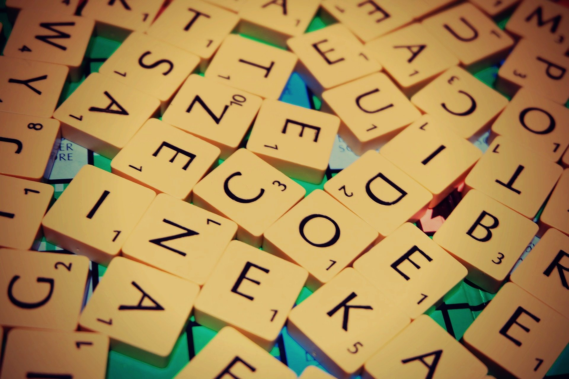 Scrabble Letters - Phrases To Remove From Your Vocabulary