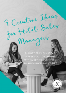 creative ideas for hotel sales managers