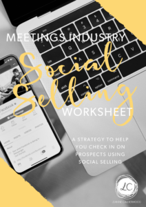 social selling worksheet